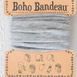 boho bandeau van natural life. op veel verschillende manieren te dragen zoals: haarband, bandeau, sjaal,haarband etc. in de kleur grijs