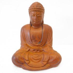 bruine meditatie boeddha