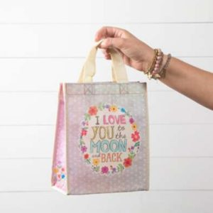 i love you to the moon and back happy bag